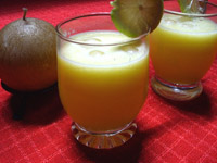 Jus de citron et d'orange